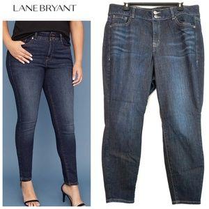 16 Short Lane Bryant High Rise Skinny Jeans w/T3